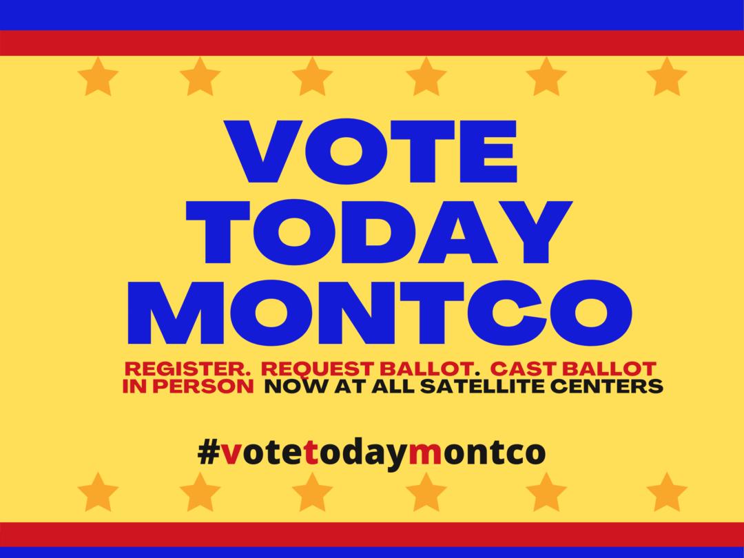 Vote Today Montco